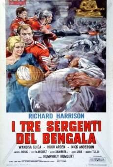 Ver película Tres sargentos bengalíes