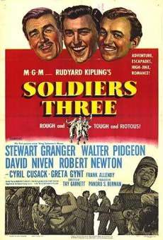 Soldiers Three on-line gratuito