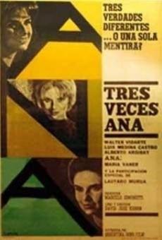Ver película Tres veces Ana
