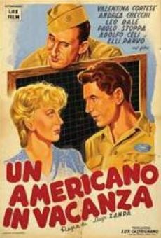 Un americano in vacanza online streaming