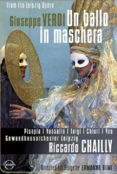 Ver película Un ballo in maschera