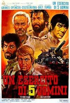 Ver película Un ejército de cinco hombres