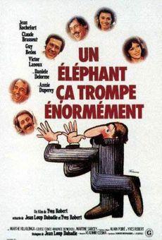 Un éléphant ça trompe énormément on-line gratuito