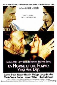 Ver película Un hombre y una mujer: 20 años después