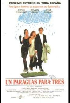 Ver película Un paraguas para tres