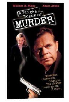 A Slight Case of Murder on-line gratuito