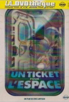 Un ticket pour l'espace on-line gratuito