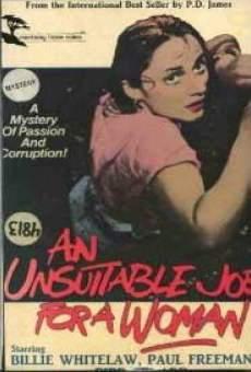 Ver película Un trabajo no apropiado para mujeres