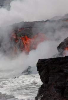 Ver película Un volcán con lava de hielo