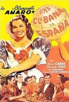 Ver película Una cubana en España