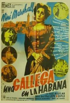 Ver película Una gallega en La Habana