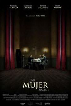 Una mujer sucede online streaming