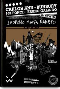 Una noche con Panero - El concierto online