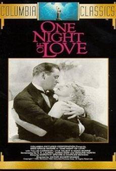 Una noche de amor online