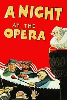 Ver película Una noche en la ópera