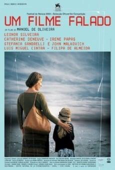 Um filme falado on-line gratuito