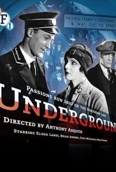 Ver película Underground