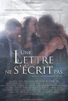 Ver película Une lettre ne s'écrit pas
