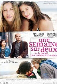 Ver película Une semaine sur deux