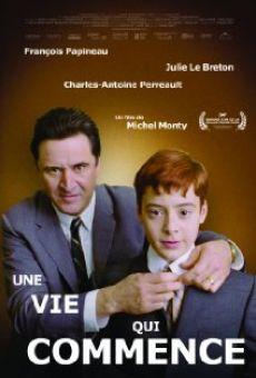 Ver película Une vie qui commence