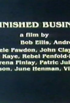 Ver película Unfinished Business