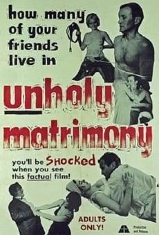 Ver película Unholy Matrimony