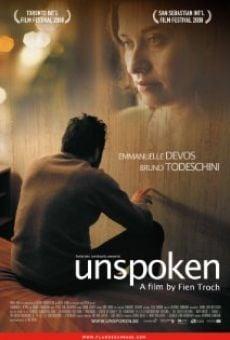 Ver película Unspoken