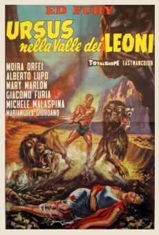 Ver película Ursus en el valle de los leones
