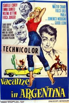 Ver película Vacaciones en la Argentina