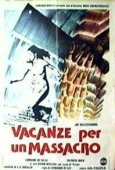 Ver película Vacaciones para una masacre