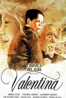 Valentina. Crónica del alba, 1ª Parte on-line gratuito