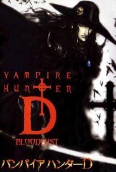 Ver película Vampire Hunter D: Bloodlust