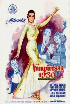 Vampiresas 1930 online