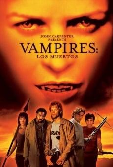 Vampiros: los muertos online gratis
