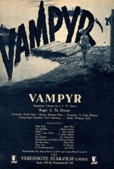 Película: Vampyr, la bruja vampiro