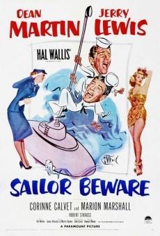 Ver película ¡Vaya par de marinos!