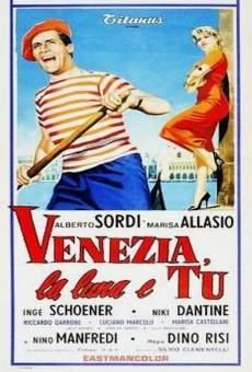 Ver película Venecia, la luna y tú