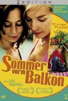 Sommer vorm Balkon online