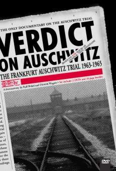 Ver película Verdict on Auschwitz