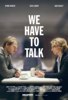 Vi måste prata online