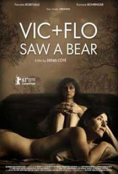 Ver película Vic+Flo Saw a Bear