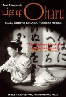 Ver película Vida de Oharu, mujer galante