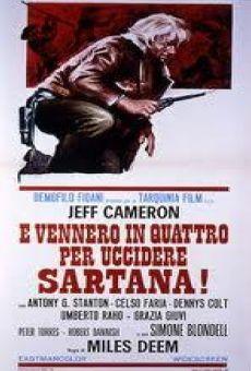 Vinieron cuatro para matar a Sartana online gratis