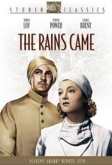 Ver película Vinieron las lluvias