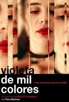 Violeta de mil colores on-line gratuito