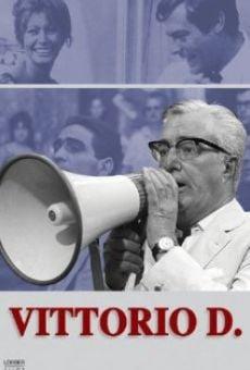 Ver película Vittorio D.