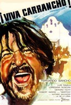 Ver película ¡Viva Carrancho!
