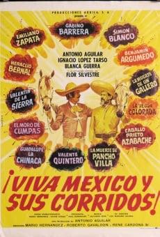 Viva Mexico y sus corridos online kostenlos