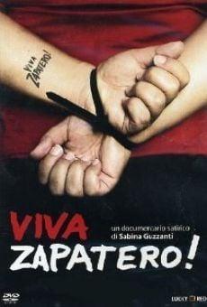Viva Zapatero! on-line gratuito