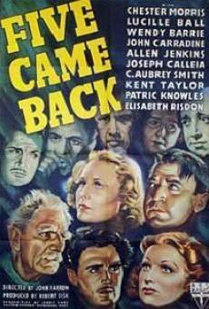 Five Came Back on-line gratuito